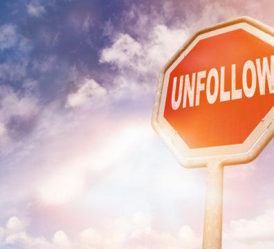 perda de seguidores